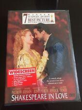 Shakespeare in Love (Dvd, 1999) Brand New