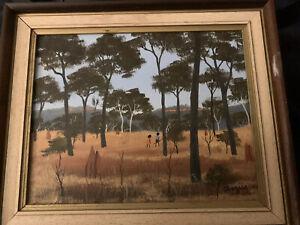 Antique Australian Painting By Percy Trezise