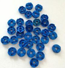 LEGO 32X PIASTRE 2X2 ROTONDE BLU LOTTO PLATE SET KG SPED GRATIS SU + ACQUISTI