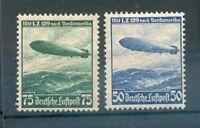 DR-3.Reich 606/7X 606-607X Luxury Mint Original Gum + Folded Eur ( 69743