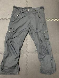 Mens 686 Snowboarding Pants Size XXL Thermal Rating 7 Black🔥🔥🔥