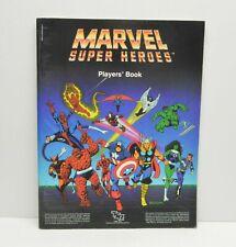 TSR Marvel Super Heroes PLAYER'S BOOK RPG vintage 6871XXX1901