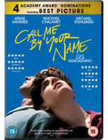 Call Me By Your Name DVD (2018) Timothée Chamalet, Guadagnino (DIR) cert 15