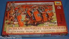ZVEZDA 8043 Roman Imperial LEGIONARIES. ROMANS FANTERIA. scala 1:72. 52 NUMERI