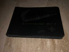 1956 57 Continental Mark II DATA BOOK Dealer Owners 56 1957 MK II Lincoln