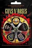 GUNS N' ROSES PLEKTRUMSET / GUITAR PICK SET #2 LOGO