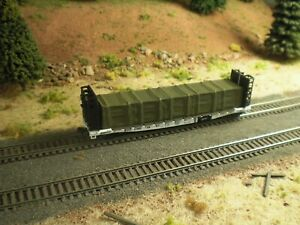 Hay Bros TARP COVERED MACHINERY #2 LOAD Gons Fits Flatcars 2//pk O.D. GREEN