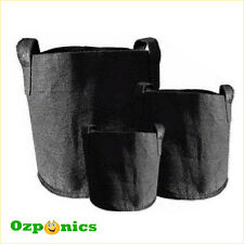 HYDROPONICS 10 GALLON FABRIC POT Soft Smart Plant Growing Bag with Handles