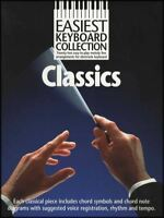 Easiest Keyboard Collection Classics Sheet Music Book Classical Bach Mozart