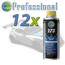 12x Tunap 173 Additivo carburante pulizia motore a benzina 200ml.