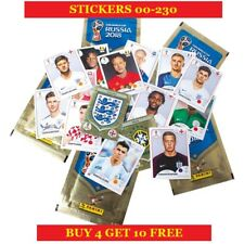 Panini 2018 FIFA World Cup Russia Single Stickers (2018) Buy 4 Get 10 Free Part1