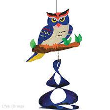 Owl Theme Duet. Hang In A Garden. 2D Graphic
