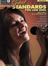 NEW Great Standards You Can Sing Women's Edition Vol 42 Songbook Sound-alike CD
