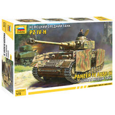 ZVEZDA 5017 Panzer IV Ausf H (Sd.kfz.161/2) 1:72 Tank Model Kit
