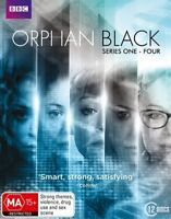 Orphan Black : Series 1-4 (Blu-ray, 12-Disc Set) NEW