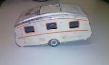 Blechspielzeug Made in GT Britain House Trailer  Caravan Wohnwagen 50er / 60er