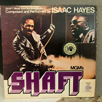 "SHAFT Movie Soundtrack - ISAAC HAYES (ENS-2-5002) - 12"" Vinyl Record LP - VG+"