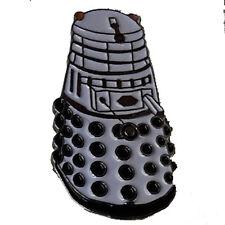 Doctor Who white weißer Dalek Metal - PIN - neu ovp