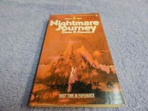 Nightmare Journey by Dean R. Koontz   1st Pocket Paperback  1975