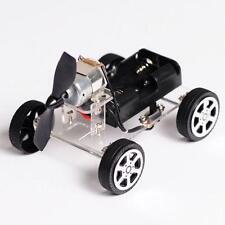 DIY Puzzle Mini Wind Car Child Educational Toy 130 Brush Motor Robot for Arduino