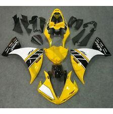 Yellow ABS Plastic Fairing Bodywork Kit For YAMAHA YZF R1 YZF-R1 09-11 10 14A