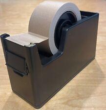 Paketbandabroller MAX, Table Tape Dispenser, schwarz, für 50mmx66m Paketbänder