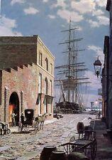 John Stobart Print - Charleston: Prioleau Street in 1870
