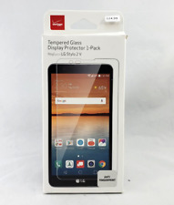 Authentic Verizon OEM Tempered Glass Screen Protector for LG Stylo 2 V