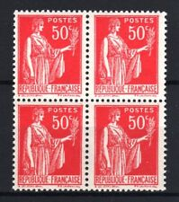 "FRANCE STAMP TIMBRE 283 s "" PAIX 50c FAUX DE BARCELONE BLOC 4"" NEUF xx LUXE R765"