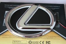 12.5*9.2cm Lexus 5D Led Car Decal Tail Logo Light Badge Lamp Emblem Sticker