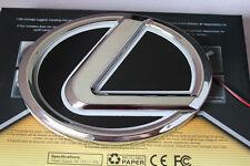 12.5*9.2cm Lexus 5D Led Car Decal Tail Logo Light Badge Lamp Emblem Sticker