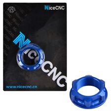 CNC Steering Stem Nut Bolt For Yamaha YZ125X YZ250X 2016 2017 2018 Anodized Blue