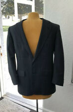 BROOKS BROTHERS Wool Blazer Sport Coat Large Navy Blue Single Breasted USA
