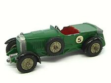 Matchbox Yesteryear Y5-1 Le Mans Bentley (RARE GREY FOLDED ROOF TONNEAU)
