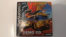 Vigilante 8 Demo CD all Art in tact (Sony PlayStation 1) PS1 Rare