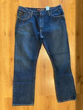 Ariat FR M4 Basic Jeans Mens Size 40x34 Low Rise Boot Cut 5 Pocket