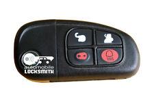 used Jaguar X-Type 4 button remote flip key fob 1X43-15K601-BJ