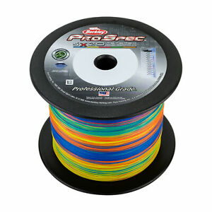 Berkley ProSpec 5-Color Metered Braid 1500 Yards Fishing Line-Pick Line Class