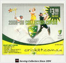 Cricket Card Box--2008-09 Select Cricket Trading Cards Factory Box (36 Packs)