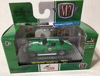 New 2019 M2 Machines Turtle Wax 1966 Chevrolet Corvette 427 Green 46 Race Car