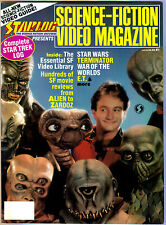 1988 STARLOG SCIENCE-FICTION VIDEO MAGAZINE # 1  (ex) E. T.  on cover