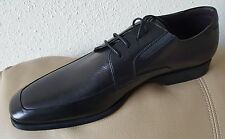 New Magnanni Derby Lace Black Leather Oxfords Made in Spain Sz 11.5-M $399.99