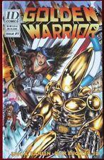 Golden Warrior (1997) #1 - Comic Book Signed - Industrial Design Comics