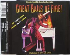 JERRY LEE LEWIS - Great balls of fire ('89 version) 3TR CDM 1989 ROCK & ROLL
