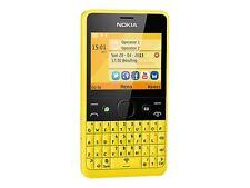 Nokia Asha 210 - Yellow SINGLE SIM  (Unlocked) Mobile Phone