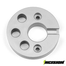 VANQUISH INCISION YETI/RR10 MOTOR PLATE CLEAR ANODIZED AXIAL BOMBER IRC00152