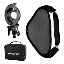 "Neewer Photography 24x24""Softbox with S-type Bracket Mount and Carrying Case"