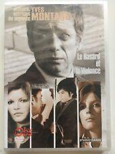 Le hasard et la violence DVD NEUF SOUS BLISTER Yves Montand