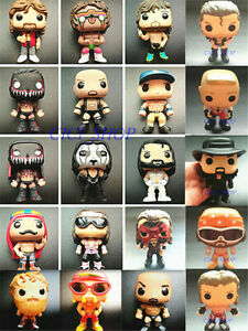 FUNKO POP WWE ☆The Rock Finn Balor John Cena Iron Sheik Andre Ric Flair Sting☆
