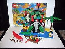 Lego set 6264 Forbidden Cove – 203 Pieces – 4 Figures – Pirate - Islanders